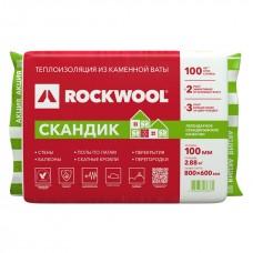 Rockwool Скандик Лайт Баттс 800х600х100, 35 кг/м3