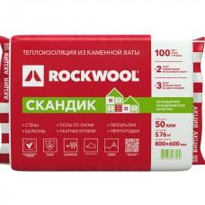 Rockwool Скандик Лайт Баттс 800х600х50, 35 кг/м3