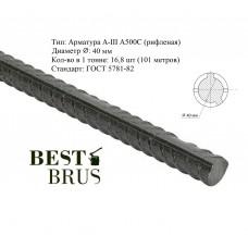 Арматура А500С 40